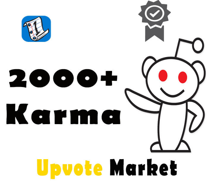 Buy Reddit Accounts with Karma – 2000+ high karma Reddit accounts for sale