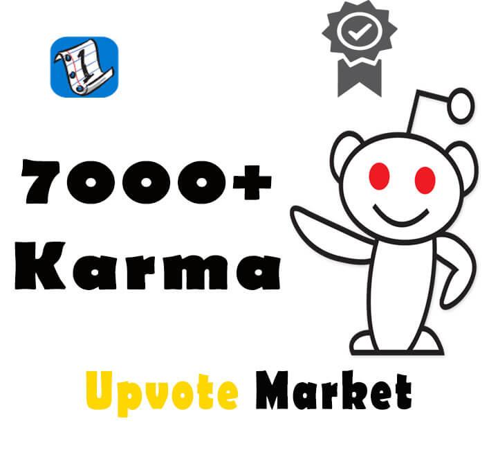 Buy Reddit Accounts with Karma – 7000+ high karma Reddit accounts for sale